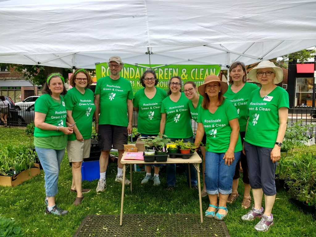 2018 Plant Sale Volunteers